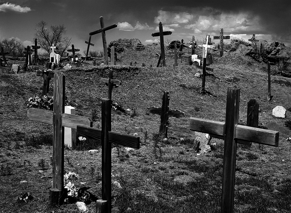 http://www.richardsprengeler.com/cemetery-crosses-taos-pueblo-new-mexico/