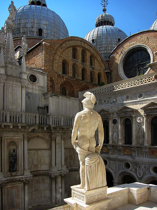http://www.richardsprengeler.com/statuary-doges-palace-venice/