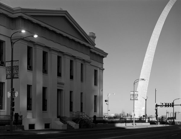 The Arch and the Old Courthouse