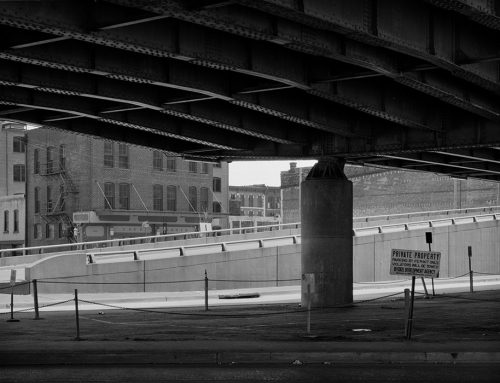 Laclede's Landing From Under I-70, 1981