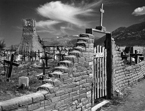Burial Ground, Taos Pueblo, New Mexico