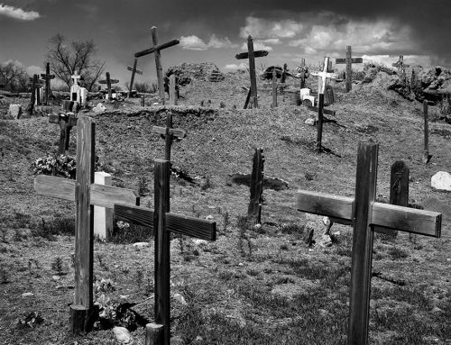 Cemetery Crosses, Taos Pueblo, New Mexico