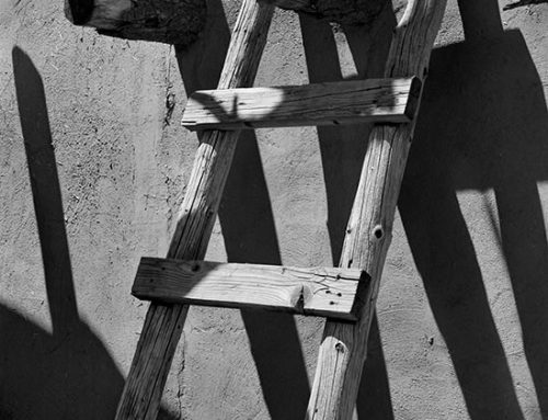 Ladder, Taos Pueblo, New Mexico