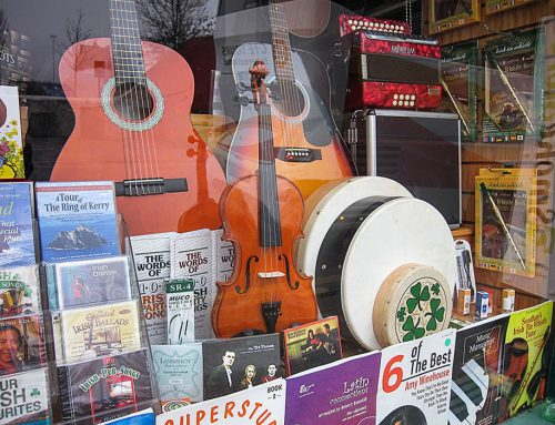 Music Store Display,  Killarney