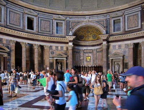 Interior, The Pantheon, Rome
