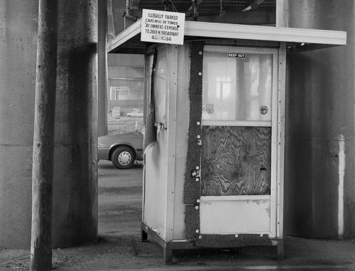 Parking Booth Under I-64, 1991