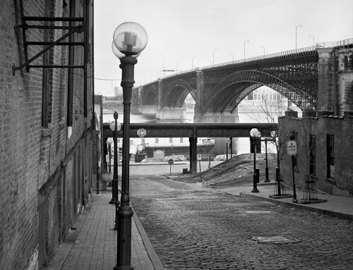 Eads Bridge From Laclede's Landing, 1983