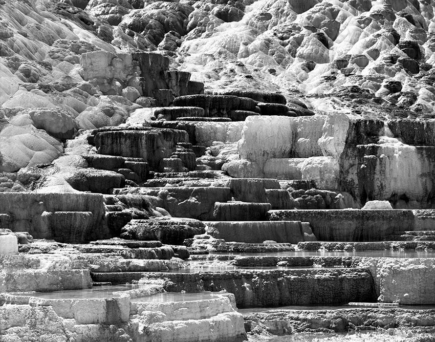 Mammoth Hot Springs 2, Yellowstone National Park, Wyoming