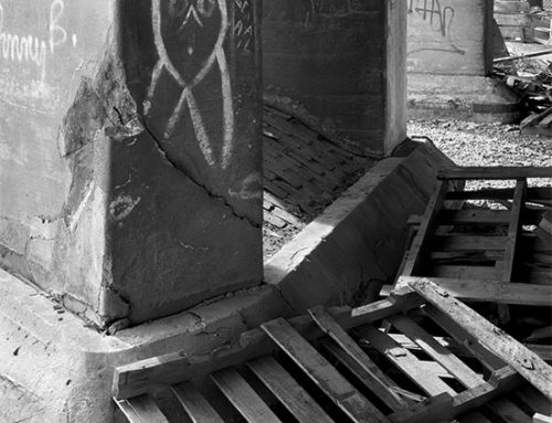 Under the Old Vandeventer Overpass 3, 1990
