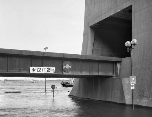 Railroad Tunnel, St. Louis Riverfront, Flood of 1993
