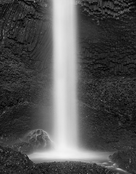 Waterfall 4, Washington,  2008