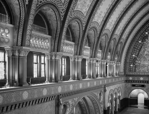 Clerestory, Grand Ballroom, Union Station, 1986