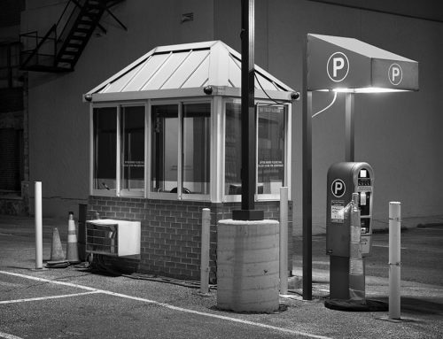 Parking Booth, Night, 11th and Pine Streets, 2020