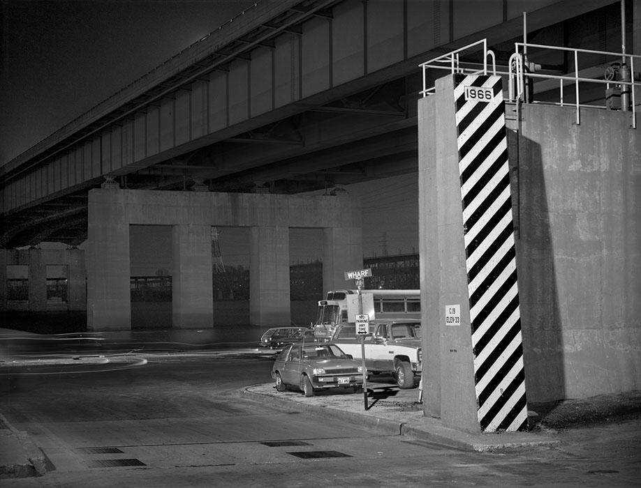 /product//poplar-street-bridge-and-flood-wall-night-1983-2/