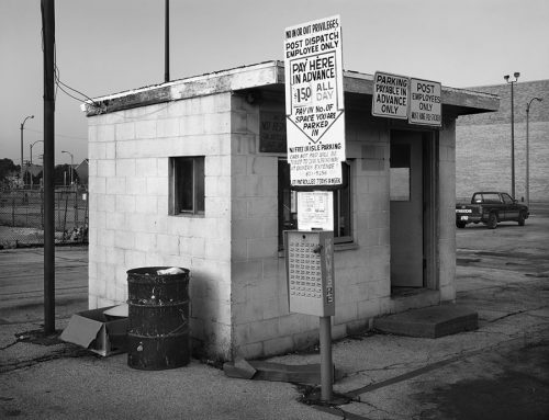 Parking Shack Near Tucker Boulevard, 1986