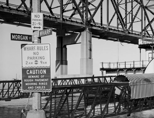 Martin Luther King Bridge, Gangplank of the Belle Angeline Riverboat, 1981