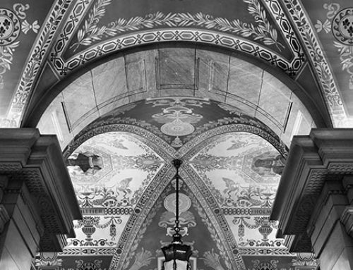 Ceiling Detail, Main Library, 2019