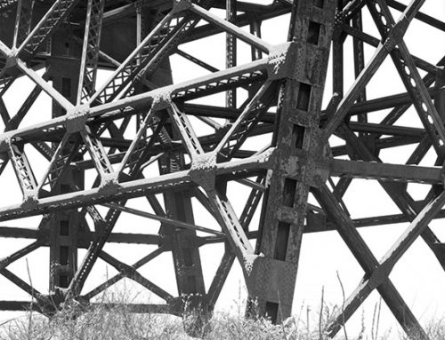 Trestles of the MacArthur Bridge, Winter, 2021