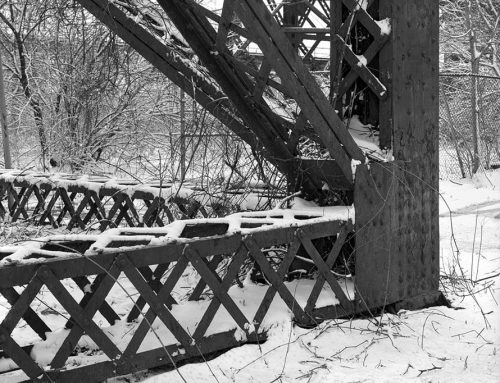 Trestle, MacAurthur Bridge, Winter, 2021