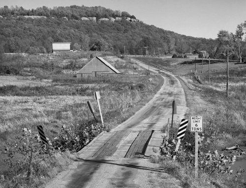 Country Road Near Cobden, Illinois, 1982