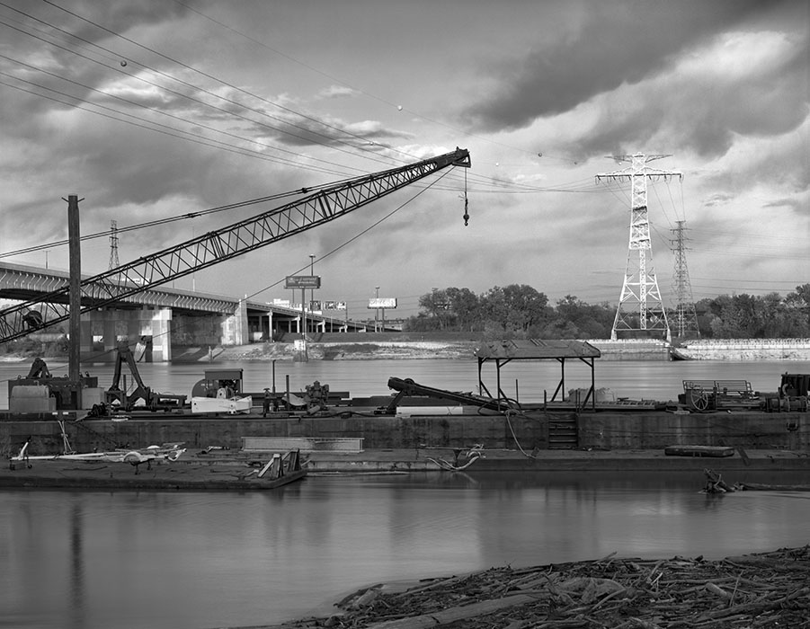 /product//barges-poplar-street-bridge-late-afternoon-chouteaus-landing-2021/